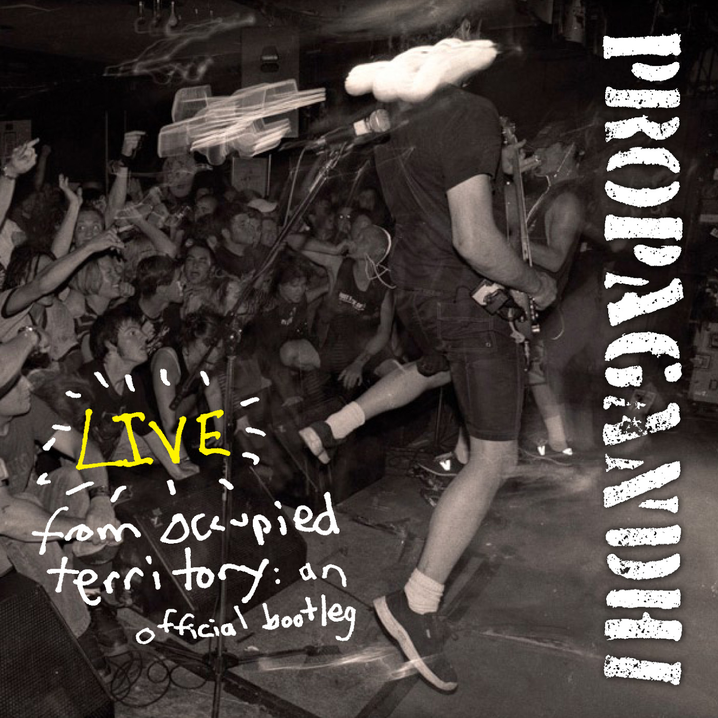 propagandhi how to clean everything album cover